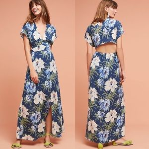 Anthropologie dRA Los Angeles Santorini Maxi Dress